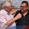 FRANCISCO MACEDO | Prefeito Nonato Alencar trata da crise hídrica com o senador Elmano Ferrer em visita à 'Barragem do Estreito'