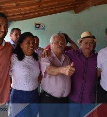 """""""Marcolândia está sendo abastecida 100% por carros-pipa e famílias mais pobres não tem condições de pagar água"""", diz Chico Pitu durante visita do senador Elmano Ferrer"""