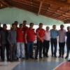 PADRE MARCOS | Prefeito Valdinar e comitiva recepcionam senador Elmano Ferrer na 'Barragem do Estreito' e buscam saída para crise hídrica do município