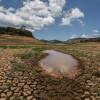 Em Pio IX, antiga barragem transforma-se em campo de areia após a seca prolongada