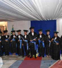 Cobertura fotográfica dos formandos em matemática pela UESPI em Fronteiras