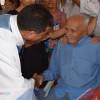 Em São Julião, vaqueiro mais velho do município completa 100 anos;  Seu Antônio Demóstenes  um dos poucos sertanejos centenários comemorou a data com familiares e amigos