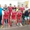 Equipe de futsal de Padre Marcos é Campeão da copa Cem em Simões; evento foi prestigiado pelo jogador Matheus Anderson do Vila Nova de Goiás e prefeitos da região