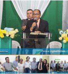 Culto em ação de graças na Igreja Brasil Para Cristo abre as festividades dos 24 anos de emancipação política de Campo Grande do Piauí
