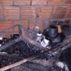 Em Belém do Piauí, residência fica destruída após incêndio
