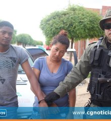 Em Campo Grande do Piauí, casal é preso por furto de celulares durante shows do 24º aniversário do município