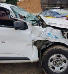 Ambulância do município de Jacobina se envolve em acidente em Teresina