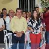 Em Padre Marcos, prefeito Valdinar Silva e vice Valdo Benedito participam de Missa em Ação de Graças pelos 54 anos do município