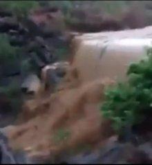 """Em Marcolândia, após chover forte, """"Barragem do Socorro"""" enche e sertanejos do município comemoram; Veja o vídeo"""