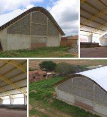 Em Campo Grande do Piauí, prefeitura finaliza cobertura da quadra de esportes do povoado Canela de Velho