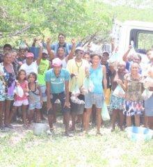 Em Campo Grande do Piauí, prefeitura realiza entrega de alimentos do Compra Direta para famílias da localidade Craúno
