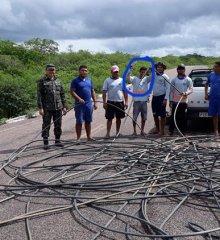 Em Patos, polícia faz operação na adutora do Poço de Marruá e flagra roubo de água
