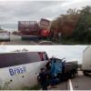 Grave acidente entre ônibus e caminhão deixa vítima fatal na BR 407 próximo a Jaicós