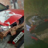 Colisão entre carro e moto deixa vítima fatal na PI que liga Belém do Piauí à Jaicós; Veja fotos