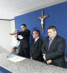 Em Santo Antônio de Lisboa, suplente de vereador Wallison toma posse na Câmara Municipal