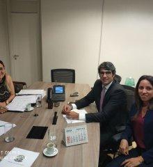 Secretária de Saúde de Santo Antônio de Lisboa cumpre agenda em Brasília em busca de recursos para o município