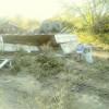 Carreta carregada de farelo de soja tomba na BR-343 no Sul do Piauí