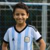 Filho de pais naturais de Pio IX, garoto de 9 anos é registrado como Messi; Garoto também é canhoto e se inspira no xará