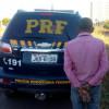 Em Picos, agentes da Polícia Rodoviária Federal cumprem mandado de prisão