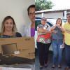 Em Jaicós, Prefeito Neném de Edite entrega quatro veículos novos e materiais para atendimento domiciliar da ESF