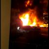 Incêndio em garagem destrói ônibus de empresa em Teresina