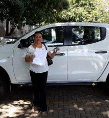 Simões  Secretária de Saúde Dra. Isamária Dantas recebe novo veiculo para saúde