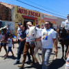 População faz protesto e pede justiça por morte de  vaqueiro morto por PM no Piauí