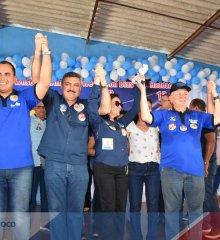 Em Simões, grupo politico do Prefeito Zé Wlisses recebe os candidatos Georgiano Neto e Júlio Cesar