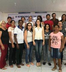 Em Simões, Secretaria de Saúde realiza II Seminário de Saúde para profissionais do município