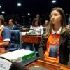 Aluna de Monsenhor Hipólito, toma posse como Jovem Senadora em Brasília