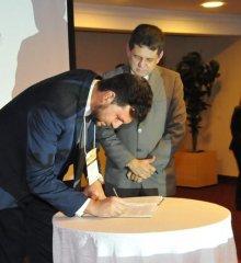 Em Brasília, Prefeito Welington Carlos assina termo para a implantação do Programa de recuperação de áreas degradadas na localidade Sítio Salvador