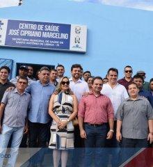 Em Santo Antônio de Lisboa, Prefeito Welington Carlos e o vice Karlão, Senador Ciro Nogueira, Deputados Mainha e Julio Arcoverde inauguram importantes obras para o município
