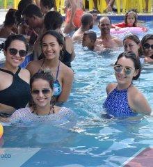 Atletas da seleção de handebol feminino do Piauí curtem dia de lazer no Tibungo Park Aquático