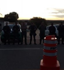 Em Jaicós, PM prende uma pessoa durante operação na BR-407
