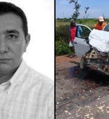Colisão entre D-20 e Saveiro mata ex-prefeito de Marcolândia, Amaro Amadeu de Carvalho