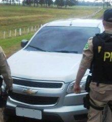 Em Marcolândia, PRF apreende caminhonete S10 com registro de roubo