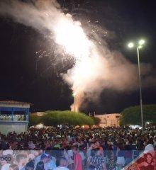 Em Simões, réveillon vira tradição e  atrai grande público na Praça do Abrigo
