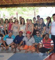 Secretaria de Saúde de Padre Marcos realiza confraternização entre servidores no Tibungo Park Aquático