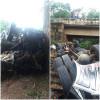 Caminhão capota e deixa um morto na BR 316 em Valença