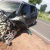 Colisão frontal entre dois veículos na BR-343 deixa 1 morto e 7 pessoas feridas no Piauí