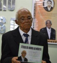 Ex-vice prefeito de Jaicós, Raimundo Mendes completa 103 anos