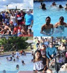Tibungo Park Aquático recebe público de mais de 700 pessoas de vários estados em mais um domingo de lazer