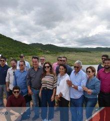 Em Fronteiras, Senador Ciro Nogueira visita Açude Barreiras e anuncia investimentos no valor de R$ 340 mil reais para revitalização do reservatório