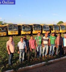Em Simões, Prefeitura realiza manutenção e reforma da frota de ônibus escolares do município
