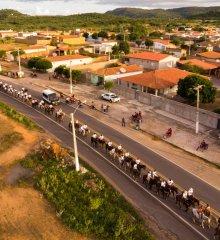 Em Fronteiras, amigos realizam II edição da cavalgada solidária; Evento ainda contou com missa campal e shows artísticos