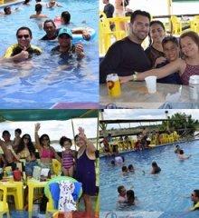 Tibungo Park Aquático proporciona dia de lazer, coquetéis e drinks, para grande público de turistas e autoridades