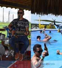 Com show de Ericles Silva em ritmo de Carnaval, Tibungo Park recebe banhistas e turistas em um domingo de lazer