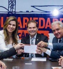 Deputada Federal Marina Santos assina ficha de filiação ao Solidariedade em Brasília