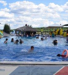 No primeiro domingo pós-carnaval, Tibungo Park recebe grande público de banhistas e turistas de diversas cidades do Brasil