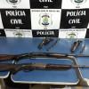 Dupla é presa por porte ilegal de arma de fogo em Santo Antônio de Lisboa
